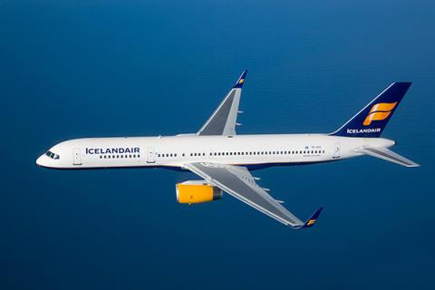 Icelandair Boeing 757 ilmassa