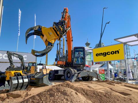Succes på Conexpo – Engcon fortsætter med at indtage Nordamerika