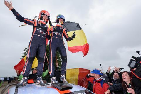 Hyundai Motorsport tar sin sjätte seger när Neuville  vinner Rally Poland
