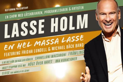 En Hel massa Lasse Holm - till Nöjesteatern i Malmö fredagen 7 april