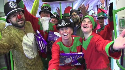 Safer Travel Saves Christmas!