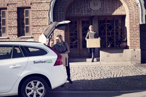 Sunfleet spår bilpoolsökning med 30 procent i Uppsala