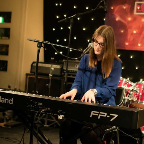 Sofia Müller från Uppsala i Livekarusellen-final