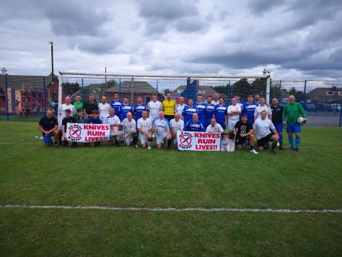 Life of Sam Cook commemorated with inauguaral football match