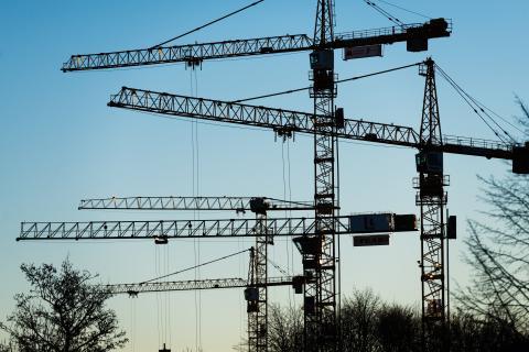 Bättre samordning snabbar upp byggprocessen.  foto Thor Balkhed