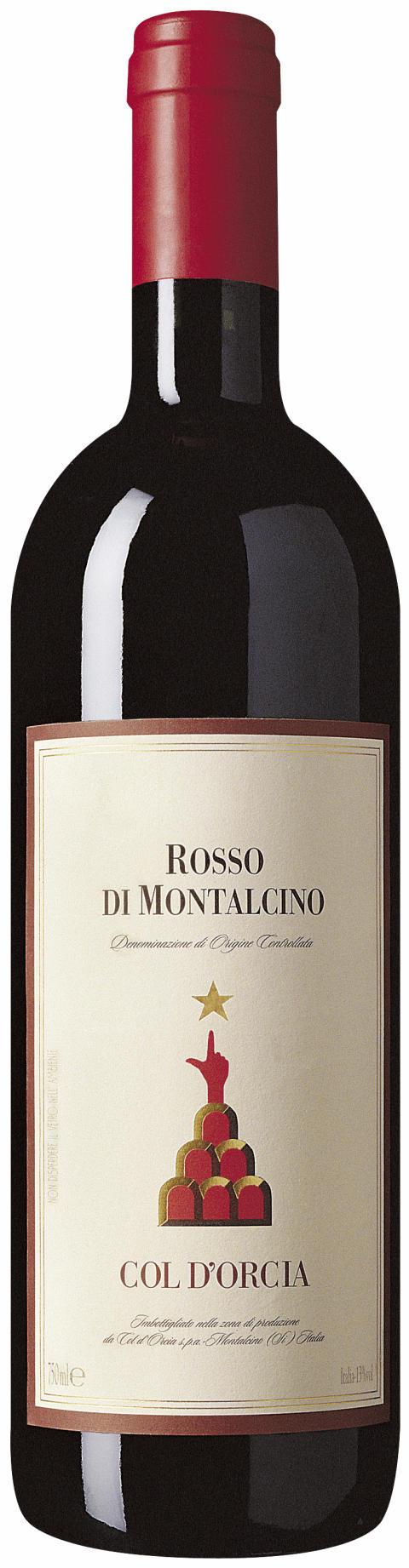 Col d'Orcia Rosso di Montalcino 2011/ Nr 70303 /Pris: 129 kr /Beställningssortimentet