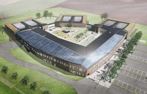 Rättspsykiatriskt centrum i Trelleborg – blir plushus