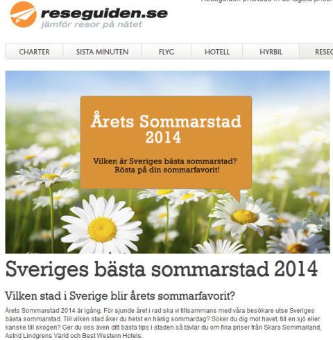 """Karlskrona klättrar på listan över """"Sveriges bästa sommarstäder"""""""