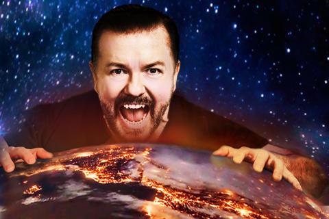 Humorgeniet Ricky Gervais till Sverige med Humanity World Tour