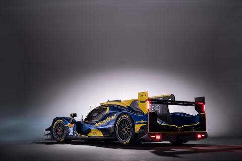 Goodyear livery on Jota Sport -  COPYRIGHT  NICK DUNGAN PHOTOGRAPHY