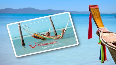 Fritidsresor skickar e-presentkort direkt från CRM-systemet
