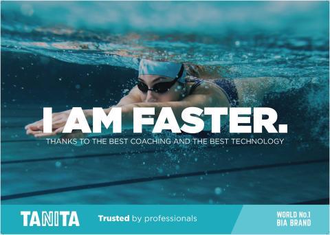 Tanita I Am Faster Poster