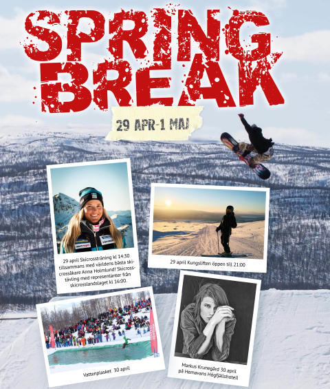 Hemavan Spring Break 29 april - 1 maj