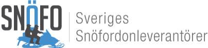 Pressmeddelande från Snöfo, Sveriges Snöfordonleverantörer