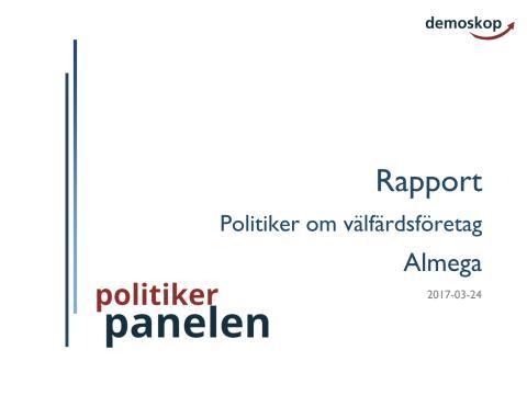 S-politiker tror inte på vinstbegränsning – undersökning från Demoskop