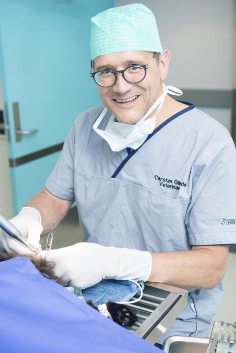 Veterinær Carsten Glindø