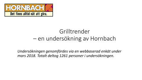 Diagram grillundersökning, Hornbach