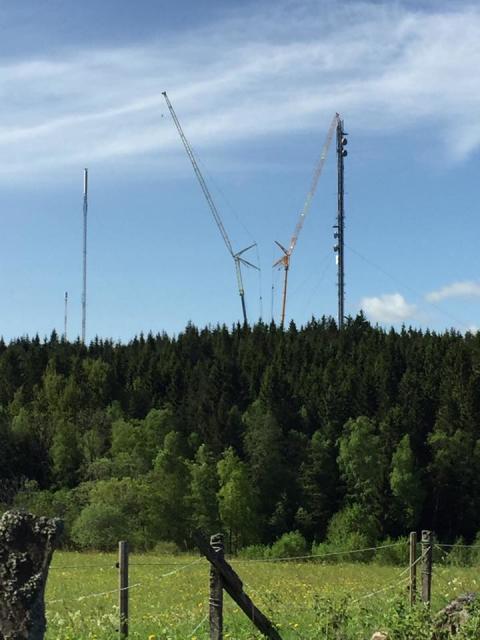 Ny mast ger fullgod tv-täckning i Boråsområdet