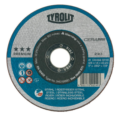 Tyrolit Cerabond Grinding Disc