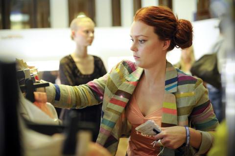 London Fashion Week , bakom kulisserna