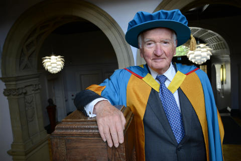 Former Lord Chancellor honoured by Northumbria University
