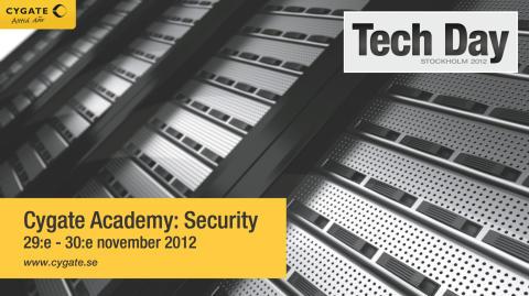 Tech Day 2012