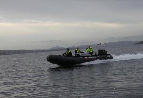 OXE operates with Hurtigruten 003