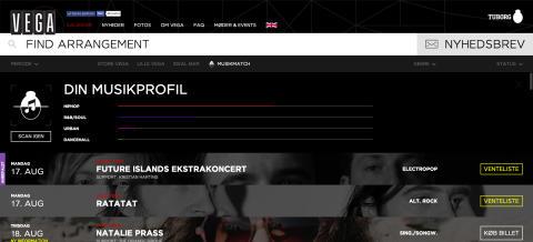 Pressebillede Nyt vega.dk - Musikmatch
