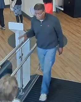Image of man sought re fraud