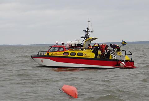 Frivilliga från Kalmar nomineras till Årets Sjöräddare