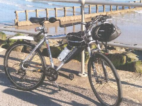 Disabled man's specially adapted bike stolen