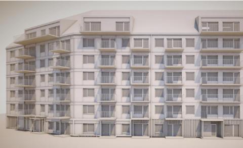 Riksbyggen planerar för 60 nya bostäder i Hyllie, Malmö