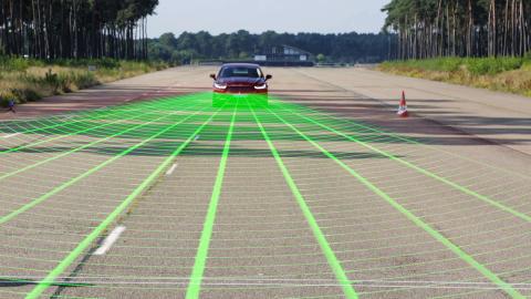 Ford Mondeon Pedestrian Detection