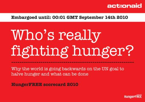 Who's Really Fighting Hunger?  - rapport från ActionAid Intl.