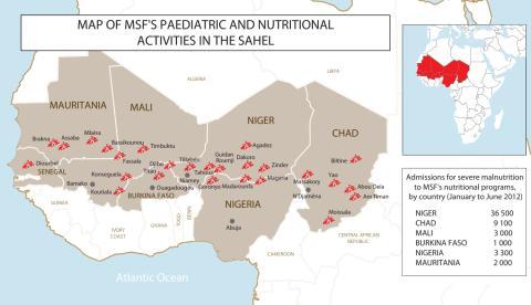SAHEL: En miljon barn gravt undernärda