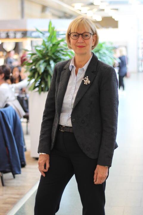 Liselott Hagberg styrelseordförande MDH pressbild