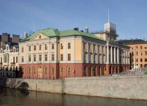 Charge Amps at the Foreign Ministry of Sweden