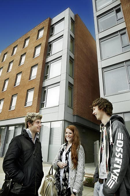 Northumbria's student halls top of the charts - again