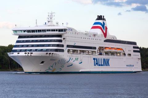 Tallink Grupp ställer in trafiken med passagerarfärjorna på rutten Tallinn–Stockholm från och med söndag den 15 mars