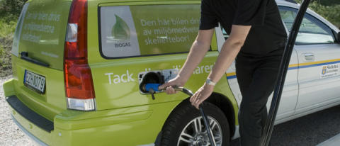 Skellefteå Kommun satsar på mer biogas från Malmberg!