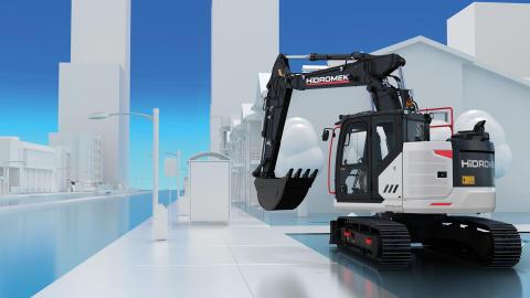 Hidromek bryter ny mark med sin nya generation maskiner