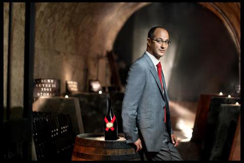 Chef du Cave Didier Mariotti