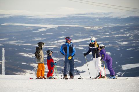 Närmare till Åre och Vemdalen från Danmark i vinter