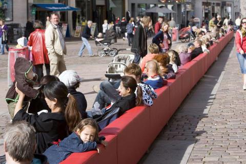 Das längste Sofa Hannovers