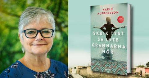 Årets comeback: Karin Alfredsson tillbaka med ny roman 1 september!