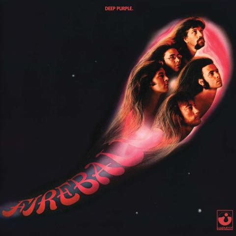 Deep Purple - Fireball artwork