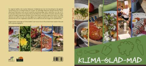 Omslag til bogen Klima-glad-mad