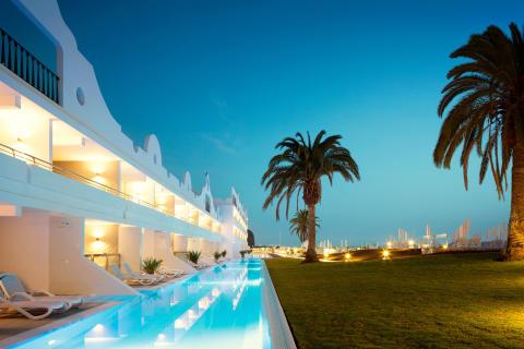 Ocean Beach Club, Playa del Curan, Gran Canaria_
