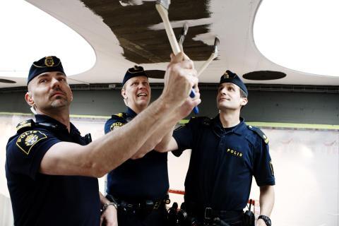 Polisen ser nytta med upprustning av Sergels torg