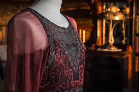 Klänning buren av lady Mary Crawley